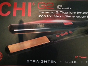 Hår straighten, curl - CHI G2 2nd Generation