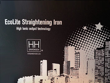 Hår produkter - Ecolite Hair Straightening Iron